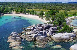 wisata bangka belitung pantai tanjung tinggi