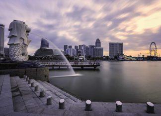 tempat-wisata-di-singapore-merlion-park