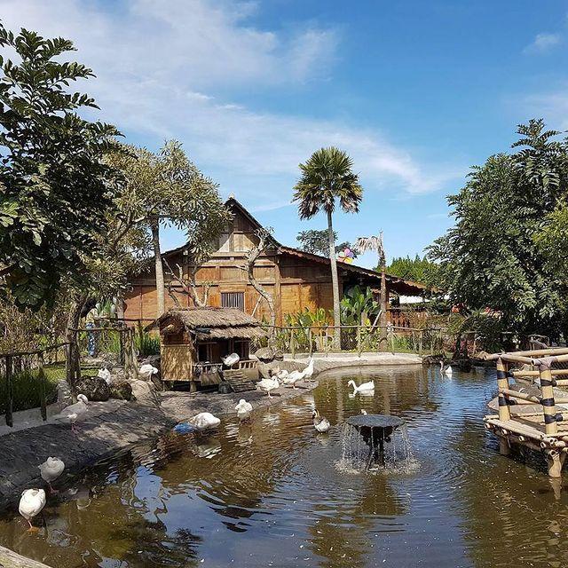 taman-angsa-floating-market-lembang